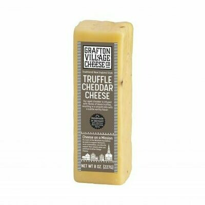 Grafton Village TRUFFLE Cheddar Cheese 8oz.
