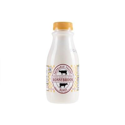 Ronnybrook Drinkable Yogurt MANGO (12 oz)