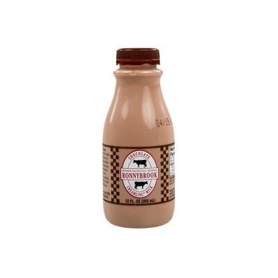 Ronnybrook Chocolate Milk 12 oz