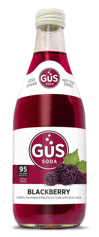 Gus Organic Soda - Blackberry