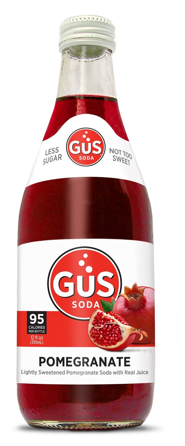 Gus Organic Soda - Pomegranate