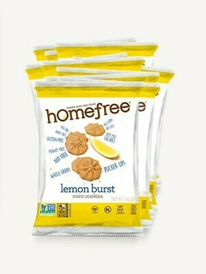 Homefree Mini Gluten Free Cookies 1oz - Lemon Burst