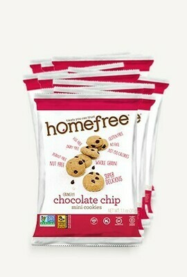 Homefree Mini Gluten Free Cookies 1oz - Chocolate Chip