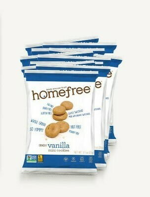 Homefree Mini Gluten Free Cookies 1oz - Vanilla