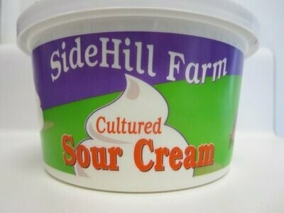 Sidehill Farm Sour Cream 12 oz