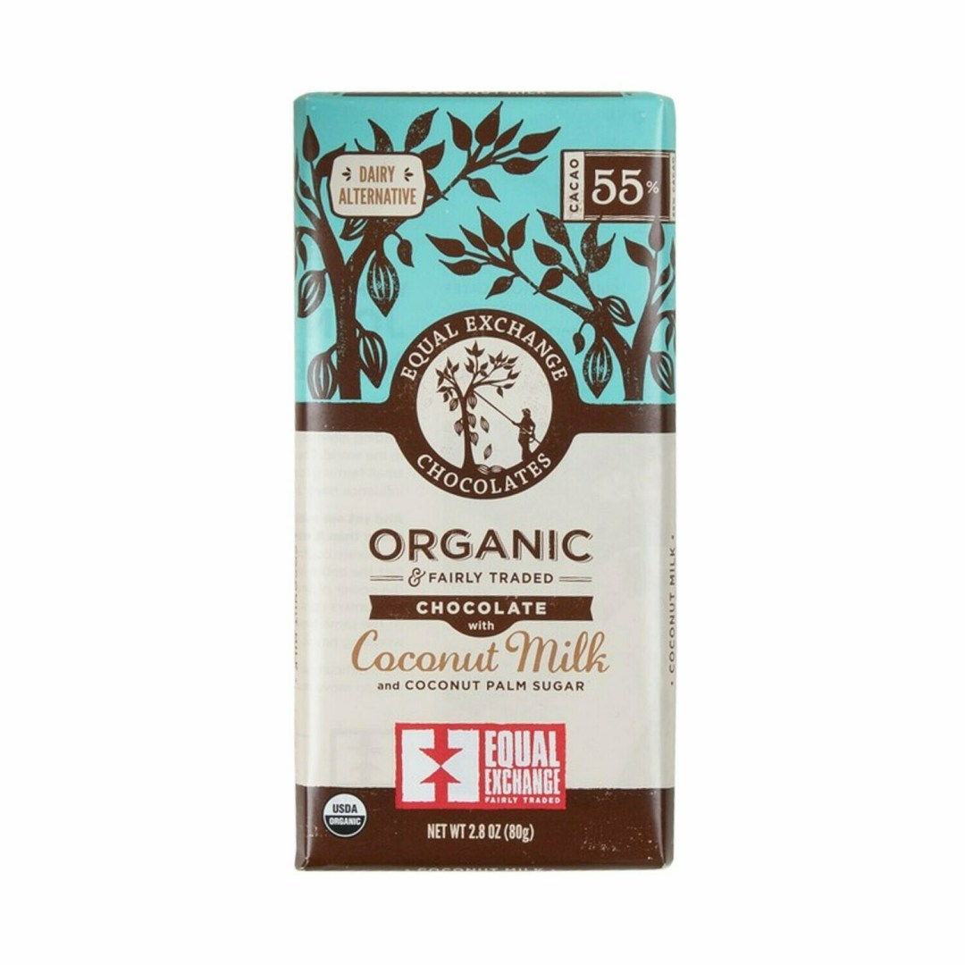 Equal Exchange Chocolate Bar - Coconut Milk