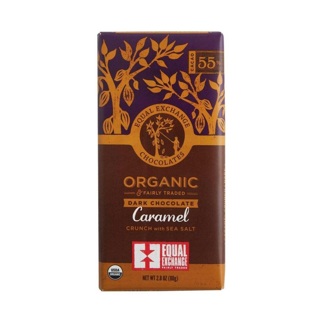 Equal Exchange Chocolate Bar - Dark Chocolate & Caramel