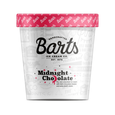 BART'S ICE CREAM - Midnight Chocolate