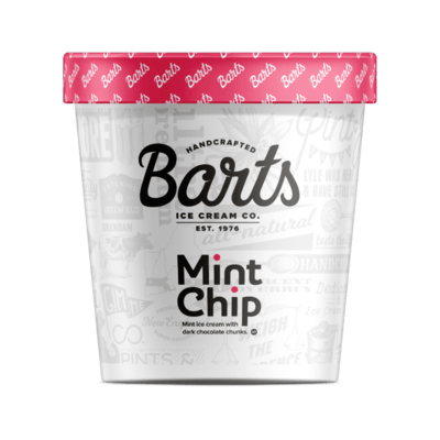 BART'S ICE CREAM - Mint Chip
