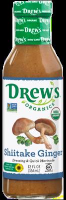 Drew's Organic Dressing - Shiitake Ginger