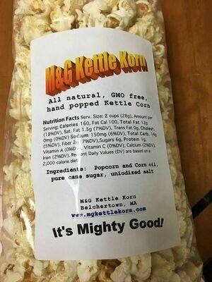 **SALE!** M & G Kettle Korn Popcorn 6 oz.