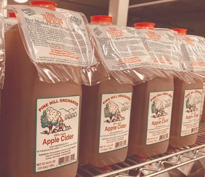Pine Hill Orchards Apple Cider 1/2 Gallon