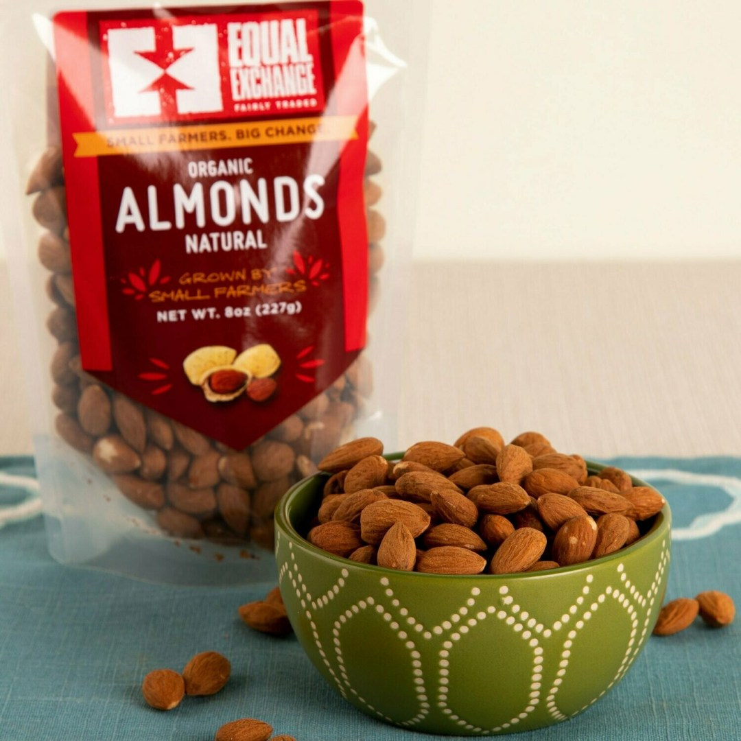 Equal Exchange Natural Almonds 8 oz.