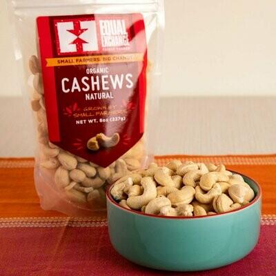 Equal Exchange Natural Cashews 8 oz.