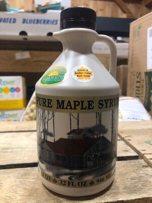 Pure Maple Syrup Amber Quart - 32 oz.