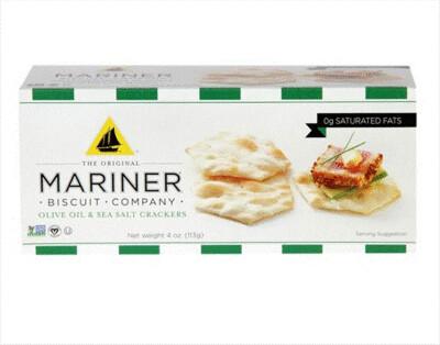 Mariner OLIVE OIL & SEA SALT Crackers