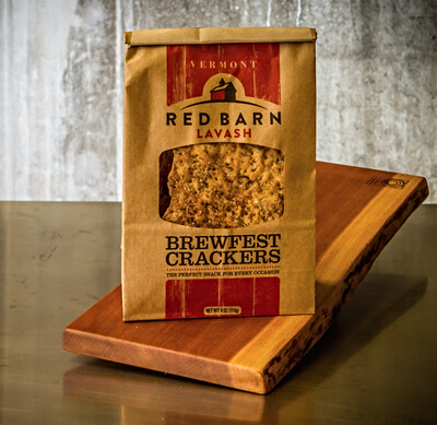 Red Barn Brewfest Crackers (lavash)