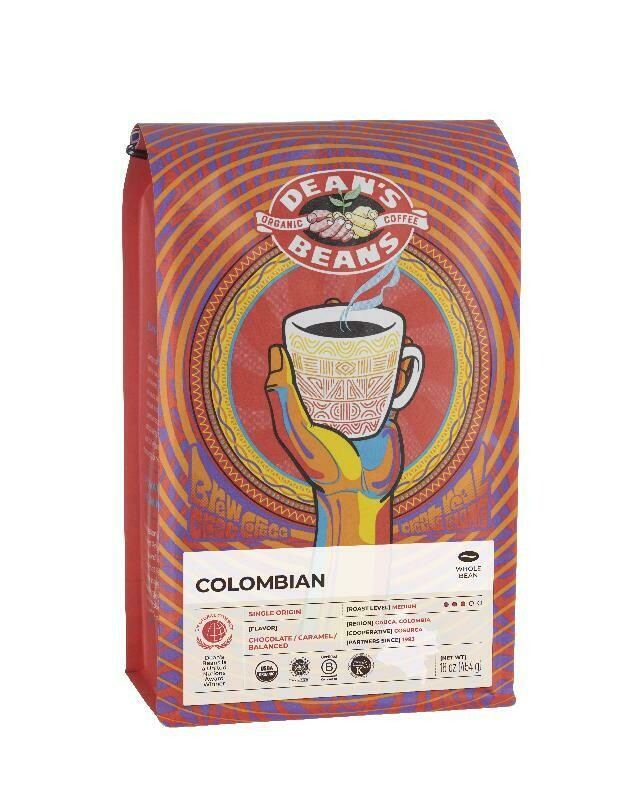 Dean's Beans Coffee - Colombian