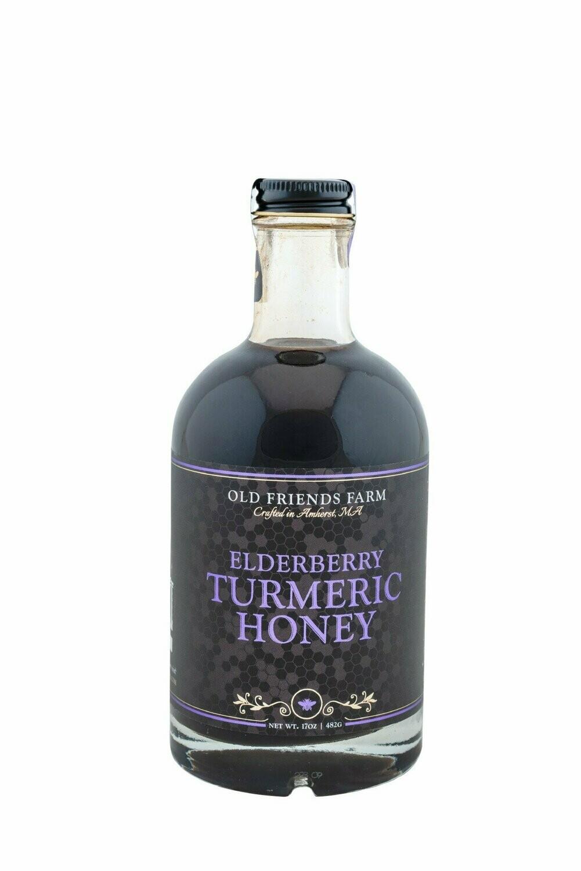 Old Friends Farm Elderberry Turmeric Honey