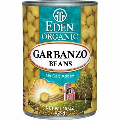 Eden Organic Garbanzo Beans 15 oz. can