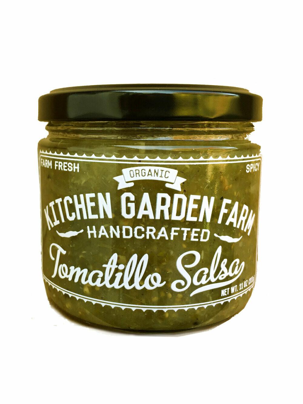 Kitchen Garden Tomatillo Salsa (spicy) 11 oz.