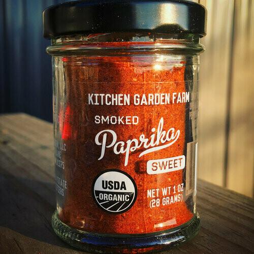 Kitchen Garden Sweet Smoked Paprika Powder