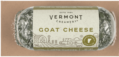 Vermont Creamery Goat Cheese Herb Chevre 4 oz.