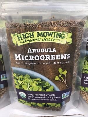 High Mowing MICROGREEN SEEDS Arugula