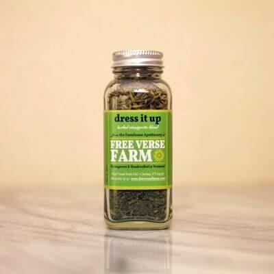 Free Verse Farm Dried Herb Blend - Dress It Up 0.4 oz