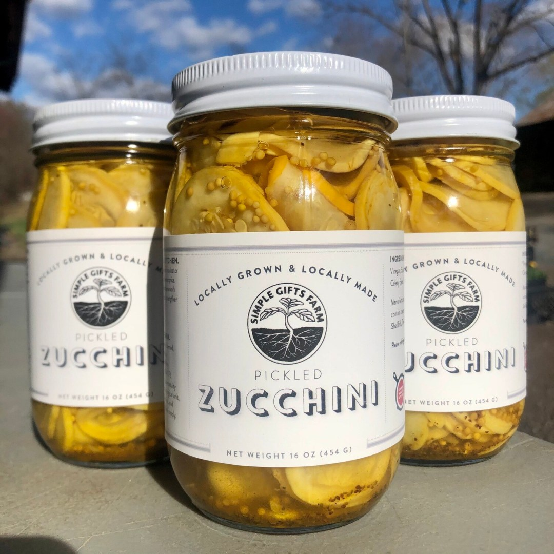 **Simple Gifts Farm Pickled Zucchini