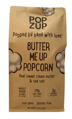 Popzup Butter Me Up Popcorn