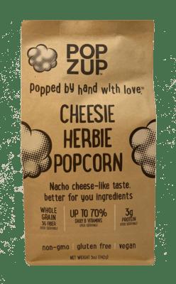 Popzup Cheesie Herbie Popcorn