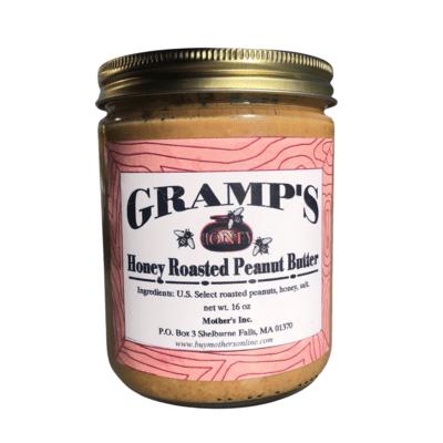 Gramp's Honey Roasted Peanut Butter