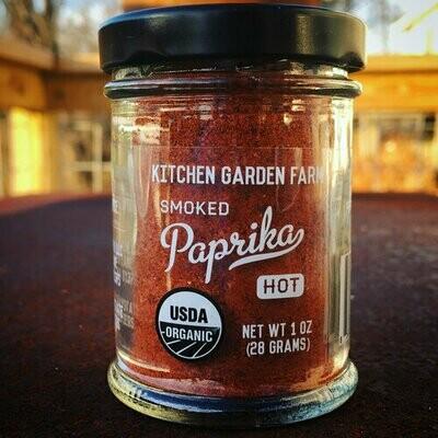 Kitchen Garden Hot Smoked Paprika Powder