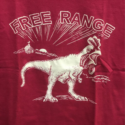 T-Shirts, Free Range Giant Chicken
