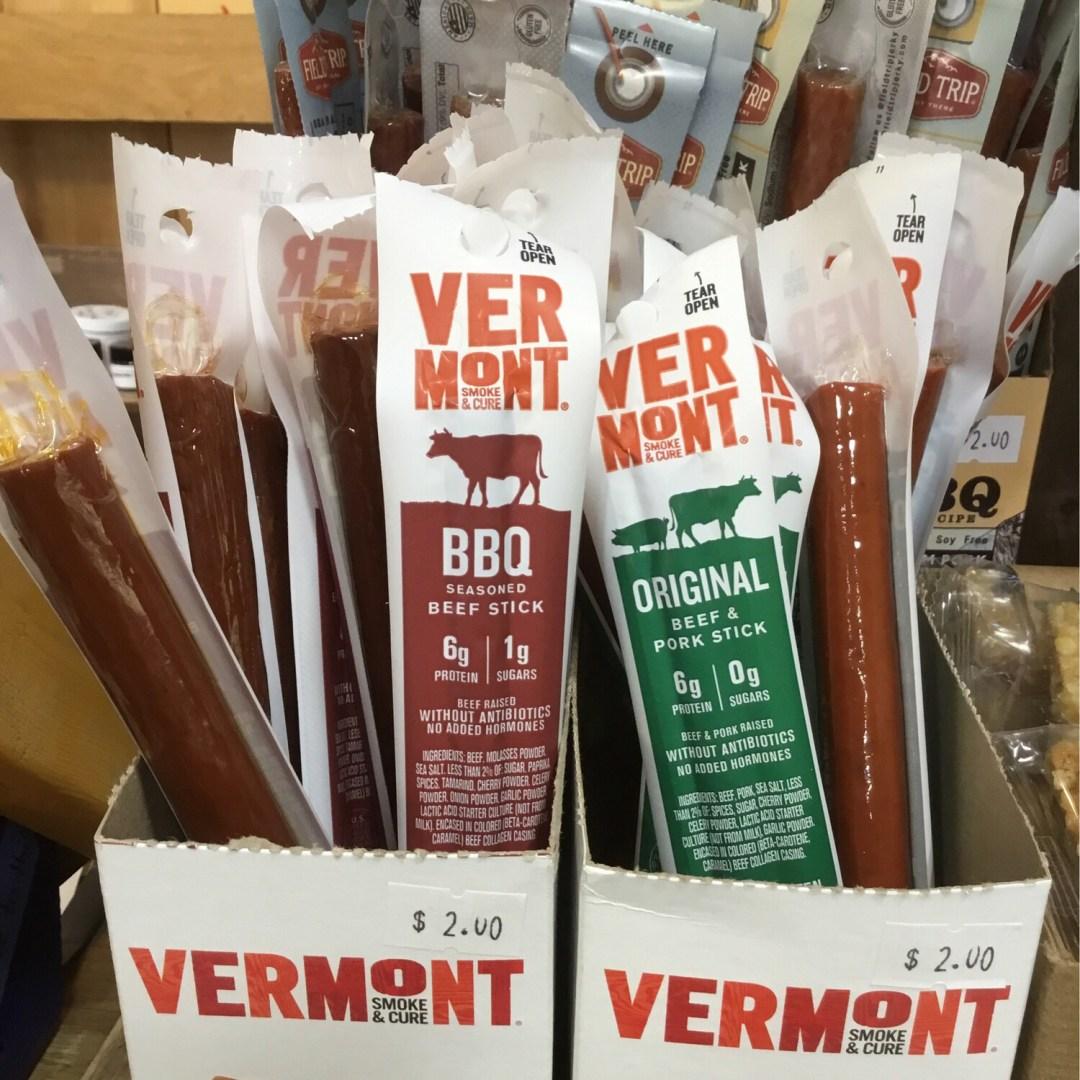 Vermont Smoke Original Beef And Pork Sticks