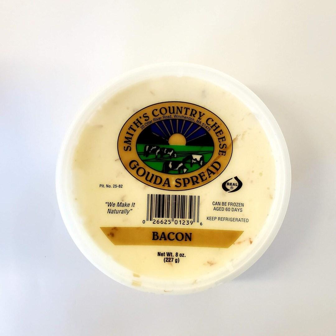Bacon Gouda Spreadable Cheese - Smith's Country Cheese