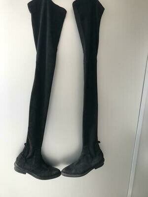 BALENCIAGA THIGH HIGH BOOTS