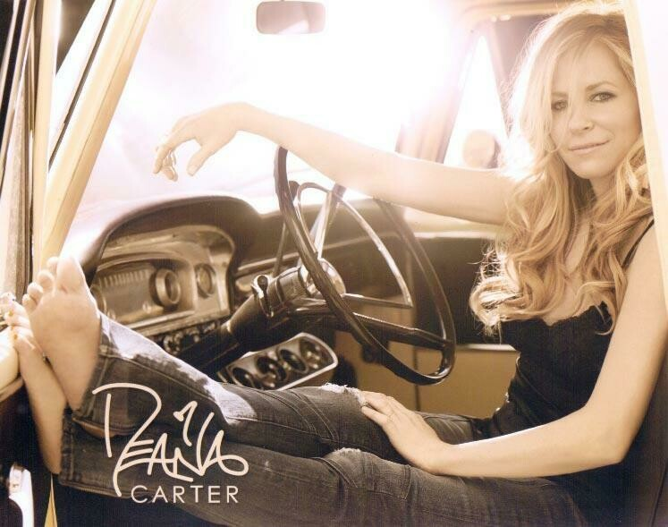 Autographed Deana Carter Photo (Truck)
