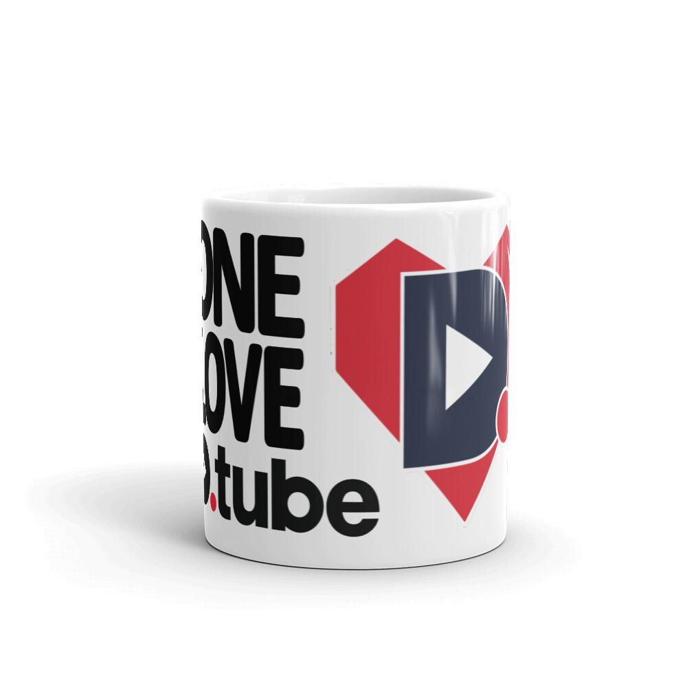 One Love D.Tube Mug - Black Print