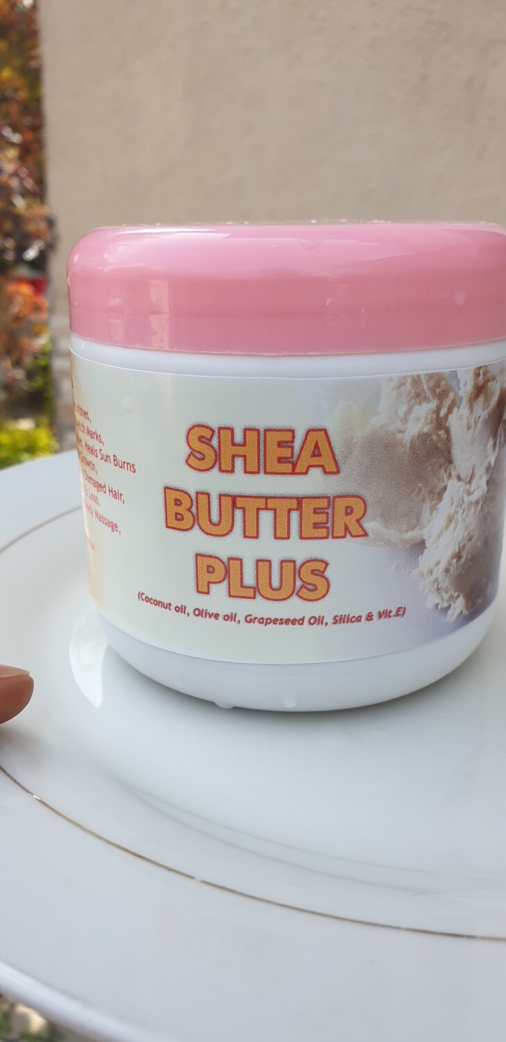 Shea Butter Plus Skin And Hair Cream