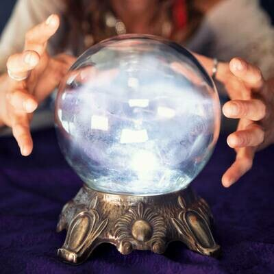 Scrying Session (Crystal Ball Reading)