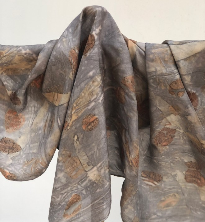 SA 1- Pure silk accessory scarf