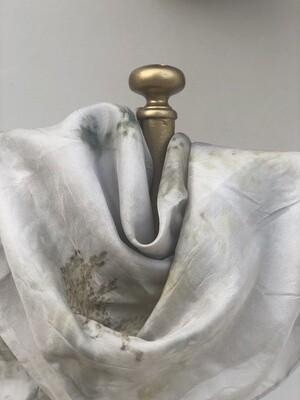 Sa 2 -Pure silk accessory scarf