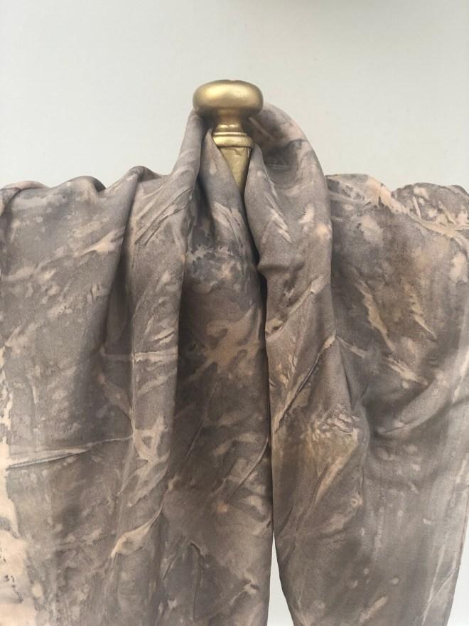 SA 5- Pure silk Accessory scarf