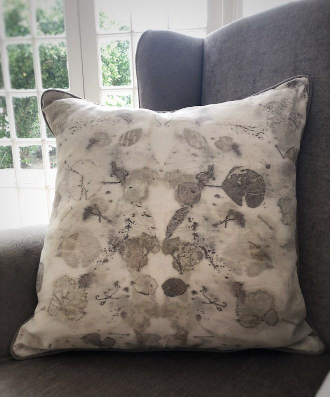 Cc05 Eco Printed Cotton Cushion cover