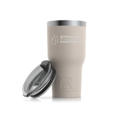 Branded 20oz RTIC Tumbler Cup - Beach