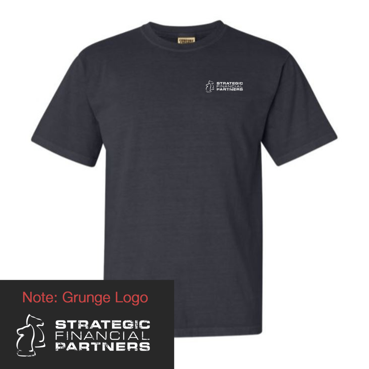 Branded Comfort Colors TShirt - Graphite