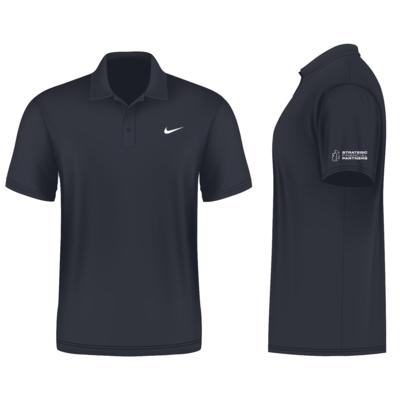 Branded Nike Golf Shirt - Dark Grey