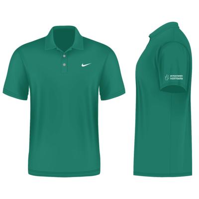 Branded Nike Golf Shirt - Green